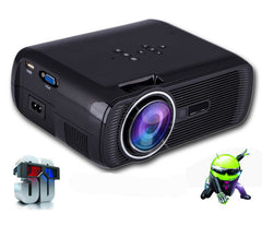 ATCO bl80 1800lumen Portable Mini full HD 1080P TV LED 3D Projector Android Wifi Smart Home Theater Beamer Proyector everycom