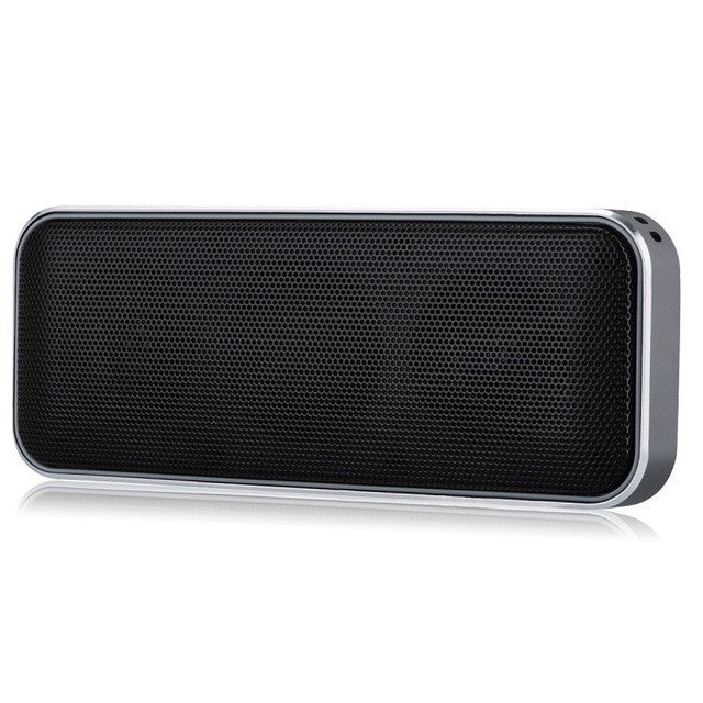 AEC BT202 Wireless Portable Speaker Super Thin Outdoor Bluetooth Speaker Play Stereo Music with Smart phone/ Answer PhoneBlackCELEBRITYSTYLEFASHION