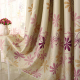 Finished Pink Petal Window Curtains for Living Room the Bedroom Kitchen Window Treatments Drapes Panel