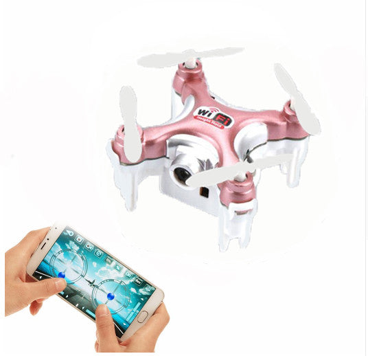 Drone Dron Quadrocopter RC Quadcopter Nano WIFI Drone with Camera 720P FPV Mini Drone10W RedCELEBRITYSTYLEFASHION
