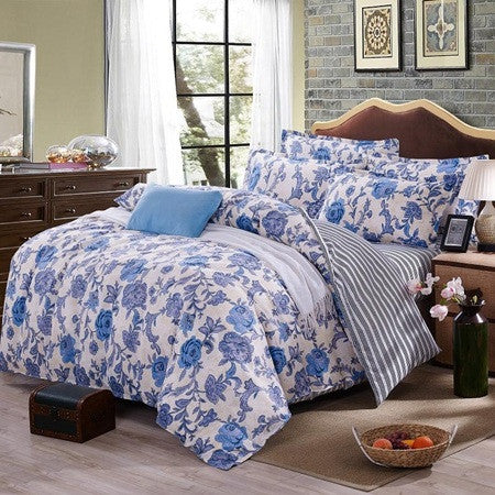 3/4pc Bedding Sets Size for Twin Full Queen king Home Hotel Bed Linen Bed Sheets Duvet Cover Set-33 colorsas picture 24QueenCELEBRITYSTYLEFASHION