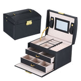 Beauty Vanity Cosmetic Case Birthday Gift Makeup Organizer Storage Travel Train Cases Lipstick Storage Organizer Bag Makeup Case
