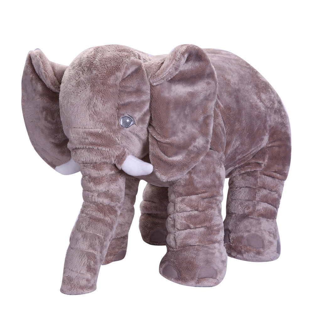 31cm-50cm / BlueBaby Elephant Plush Toy Elephant Baby Pillow For Children Crib Foldable Kids Dolls Seat Cushion Babies Newborn Photography Props