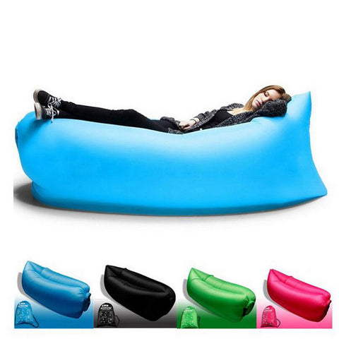Air Sofa Inflatable Lazy Bag Sleeping Bag Laybag Lounger Chair Couch