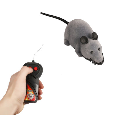 RC Wireless Simulatio Remote Control Rat Mouse Toy For Cat Dog Pet Novelty
