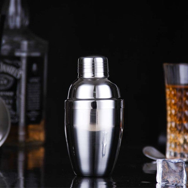 (250ml / 350ml / 530ml/750ml) 202#Stainless Steel Martini Cocktail Shaker Bar Tools Wine Shakers250MLCELEBRITYSTYLEFASHION