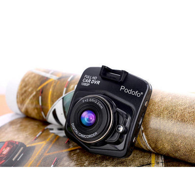 Original Podofo A1 Mini Car DVR Camera Dashcam Full HD 1080P Video Registrator Recorder G-sensor Night Vision Dash Cam