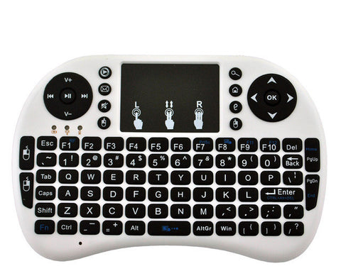 i8 Mini Wireless Keyboard 2.4ghz English Russian Air Mouse Keyboard Touchpad Remote Control For tablet laptop Android TV Box
