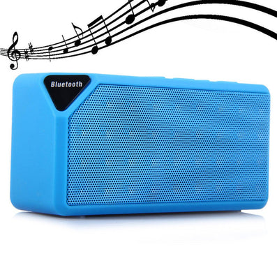 New Version X3 Portable Speaker Music Sound Box Wireless Mini Bluetooth TF USB FM Speaker  Loudspeakers for Cellphone