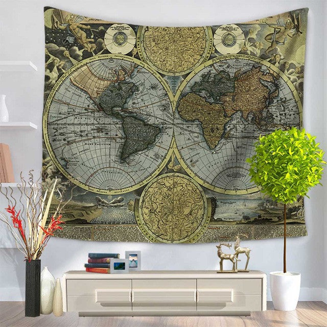 Indian Mandala Tapestry Hippie Wall Hanging Tapestries Boho Bedspread Beach Towel Yoga Mat Blanket Table Cloth