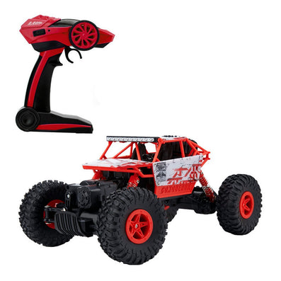 RC Car 4WD 2.4GHz Rock Crawlers Rally climbing 1:18 Car 4x4 Double Motors Bigfoot Car Remote Control Model Off-Road Vehicle Toy