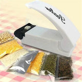 3V Household Sealer Portable Heat Sealing Machine mini Vacuum Food Bag Clips