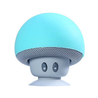 Sky BlueYALI Mini Wireless Portable Bluetooth Speaker Mini Bluetooth Mushroom Speaker Mini Speaker for Mobile Phone iPhone iPad Tablet