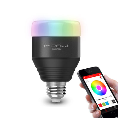 Bluetooth Smart LED Light Bulbs APP Smartphone Group Controlled Dimmable Color Changing Decorative Christmas Party Lights