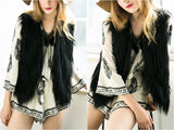 Elegant Faux Fur Vest Jacket Many Colors Available - CELEBRITYSTYLEFASHION.COM.AU - 21