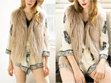 Elegant Faux Fur Vest Jacket Many Colors Available - CELEBRITYSTYLEFASHION.COM.AU - 17