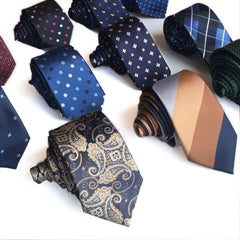 high quality cravatta 6 cm gravatas homens jacquard slim 6cm for men ties designers fashion narrow necktie corbatas hombre - CelebritystyleFashion.com.au online clothing shop australia