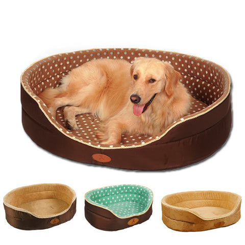 Big Size extra large dog bed House sofa Kennel Soft Fleece Pet Dog Cat Warm Bed s-xl