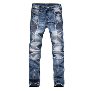 Fashion Men Jeans New Arrival Design Slim Fit Fashion Jeans For Men Good Quality Blue Black Y2031 - CelebritystyleFashion.com.au online clothing shop australia