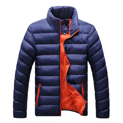 Winter Jacket Men New Spring Men's Cotton Blend Mens Jacket And Coats Casual Thick Fashion For Men Plus Clothing Male 4XL - CelebritystyleFashion.com.au online clothing shop australia