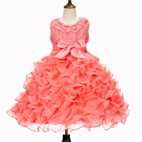Free shipping new fashion summer girls boutique dress Tutu cute baby girl dress birthday party princess tutu dresses - CelebritystyleFashion.com.au online clothing shop australia