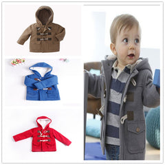 Baby Boys Jacket Clothes Winter 4 Color Outerwear Coat Thick Kids Clothes Children Clothing for 2-7yrs girls boys clothing - CelebritystyleFashion.com.au online clothing shop australia