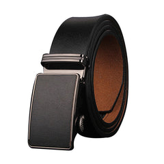 genuine leather men belts luxury Automatic strap belts for men three colors cowhide belt - CelebritystyleFashion.com.au online clothing shop australia