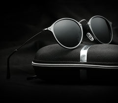Brand Fashion Unisex Sun Glasses Polarized Coating Mirror Driving Sunglasses Round Male Eyewear For Men/Women 6358 - CelebritystyleFashion.com.au online clothing shop australia