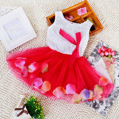 5 Color New Summer Cotton Baby Aestheticism Fairy Tale Petals Colorful Dress Chiffon Princess Newborn Baby Dresses - CelebritystyleFashion.com.au online clothing shop australia