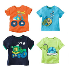 Children's boy T shirt boys' Tees t-shirt Baby Clothing Little boy Summer shirt - CelebritystyleFashion.com.au online clothing shop australia