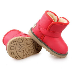 Winter Children Snow Boots Plush Boy Girls Shoes Waterproof Kids Boots Insoles 13-18CM - CelebritystyleFashion.com.au online clothing shop australia