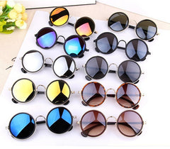 Colorful Vintage Sunglasses Women Round Sun Glasses Coating Sunglass Shades Steampunk Oculos De Sol Feminino Gafas - CelebritystyleFashion.com.au online clothing shop australia