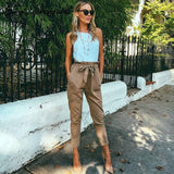 High Waist Harem Casual Pants - CelebritystyleFashion.com.au online clothing shop australia