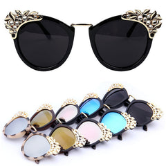 New Women Luxury Brand Sunglasses Jewelry Flower Rhinestone Decoration Sun glasses Vintage Shades Eyewear - CelebritystyleFashion.com.au online clothing shop australia