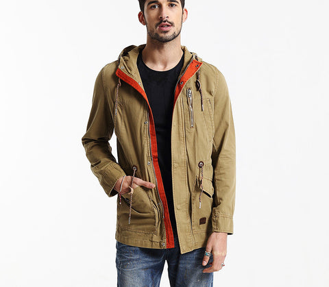 Brand Men's Down Jacket Men Outwear Winter Jacket New Fashion Men Overcoat High Quality - CelebritystyleFashion.com.au online clothing shop australia