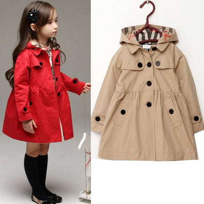 f199e6be0fc8 Red Kahiki New Fashion baby winter long sleeve jacket children ...