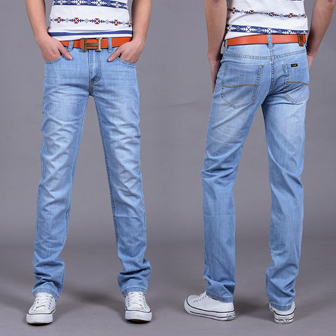 Fashion Utr Thin Retail Men's spring and summer style jeans brand denim jeans high quality leisure casual Jeans - CelebritystyleFashion.com.au online clothing shop australia