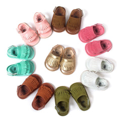 Summer Style Baby Moccasins Soft Bottom Fringe Candy Color Girls Toddler Shoes Baby Slippers Boys prewalkers - CelebritystyleFashion.com.au online clothing shop australia