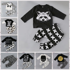 newborn little Kids boys clothes set Baby boy clothes fashion toddler baby clothing,toddler bebe set Age 0-2 year C6275 - CelebritystyleFashion.com.au online clothing shop australia