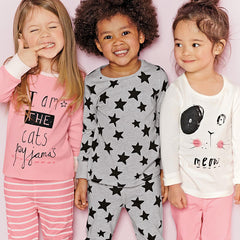 New Children Clothes Sets Baby Girls Sleepwear Long Sleeve Leisure Wear Kids Pajamas Next Girl Clothing Style for 2-7 yrs - CelebritystyleFashion.com.au online clothing shop australia