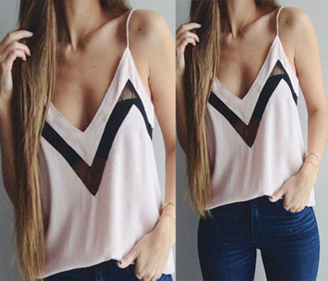 New Fashion Women Summer Vest Tank Top Sleeveless Crop Tops Blouse Sexy T Shirt Tops - CelebritystyleFashion.com.au online clothing shop australia