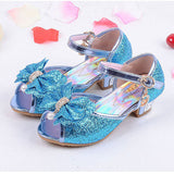 Children new fashion high heels sandals princess style party prom shoes for girls high quality non-slip buckle sandals - CelebritystyleFashion.com.au online clothing shop australia