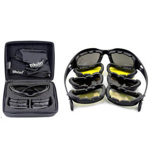 Daisy C5 Polarized Army Goggles, Military Sunglasses 4 Lens Kit, Men's Desert Storm War Game Tactical Glasses Sporting - CelebritystyleFashion.com.au online clothing shop australia