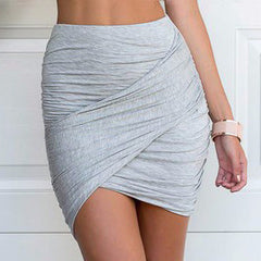 High Waist Short Mini Pencil Skirt - CELEBRITYSTYLEFASHION.COM.AU - 1