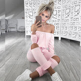 Slash Long Sleeve Bodysuit Jumpsuit - CELEBRITYSTYLEFASHION.COM.AU - 7