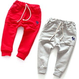 2-7Y Kids Harem Pants Toddlers Infants Baby Boy Girl Cotton Trousers Slacks - CelebritystyleFashion.com.au online clothing shop australia