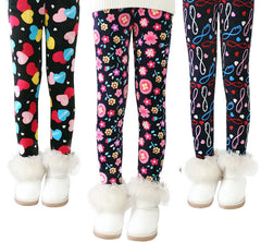 Plus Velvet Girl Kids Winter Pants Thickening Girls Leggings Cartoon For 24M-10Years Warm Girls' Trousers Children's Clothing - CelebritystyleFashion.com.au online clothing shop australia