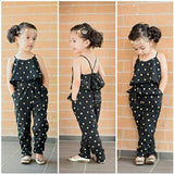Girl Romper Summer Kids Baby Girls Clothes Sleeveless Dress Jumpsuit Trousers Outfits - CelebritystyleFashion.com.au online clothing shop australia