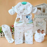 Newborn Baby 100% Cotton Shirt and Pants Suits Infant Clothes Outfits 0-3M - CelebritystyleFashion.com.au online clothing shop australia