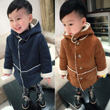 Boys Winter Jackets Coat Autumn Winter Kids Wool Outerwear Girl Coat Children Clothing Baby Clothes Hooded Boys Jackets - CelebritystyleFashion.com.au online clothing shop australia